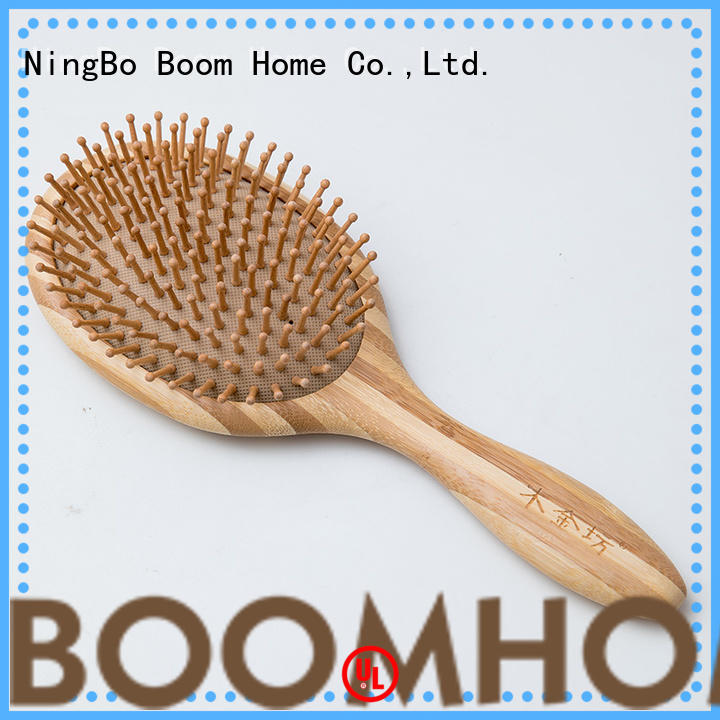 Boom Home girl wooden comb factory for travel