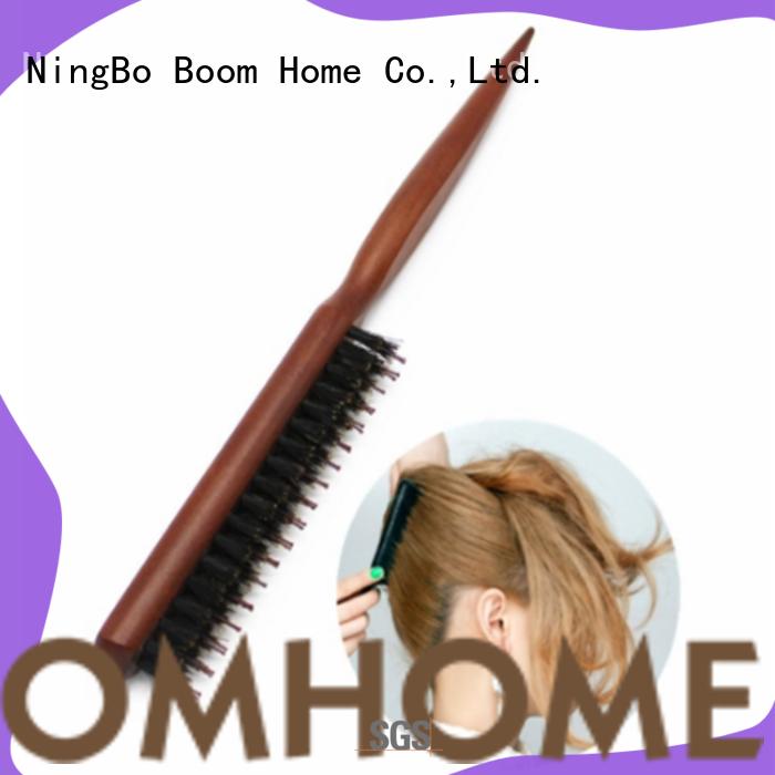 Boom Home long handle boar hair brush with good price for men