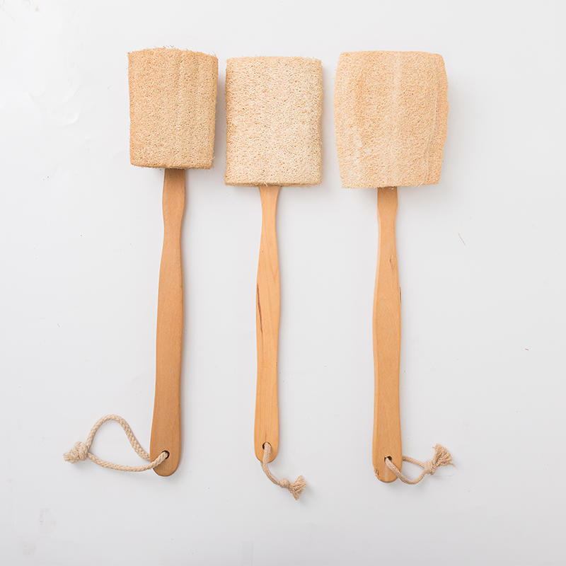OEM Natural Healthy Long Handle Bath Body Brush, Handle Bath Body Brush with high quality BOOMHOME