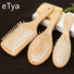 1PC Wood Comb Professional Healthy Paddle Cushion Hair Loss Massage Brush Hairbrush Comb Scalp Hair Care Healthy bamboo comb BM68190300