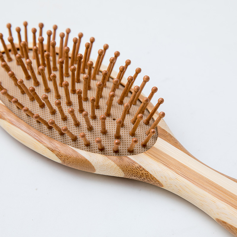 Top wooden paddle hair brush steel for business for shop-1
