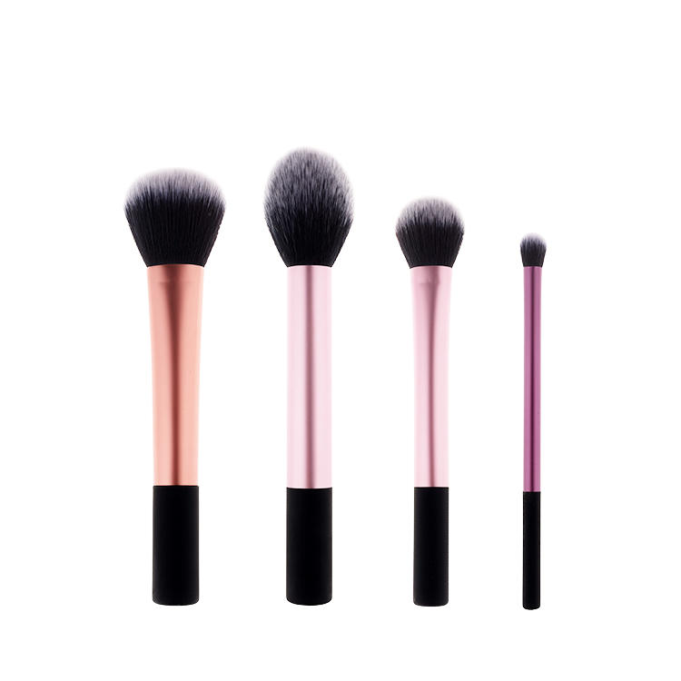 2020 new arrival pink makeup brush with wooden handle 100% ECO-friendly