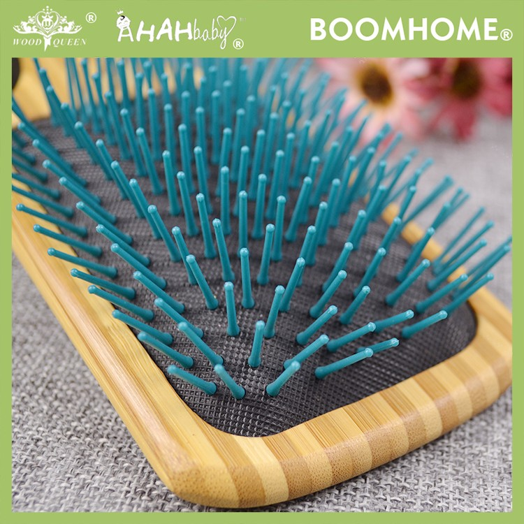 Boom Home air wooden paddle hair brush for sale for hotel-1