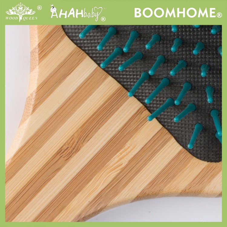 Boom Home air wooden paddle hair brush for sale for hotel-2