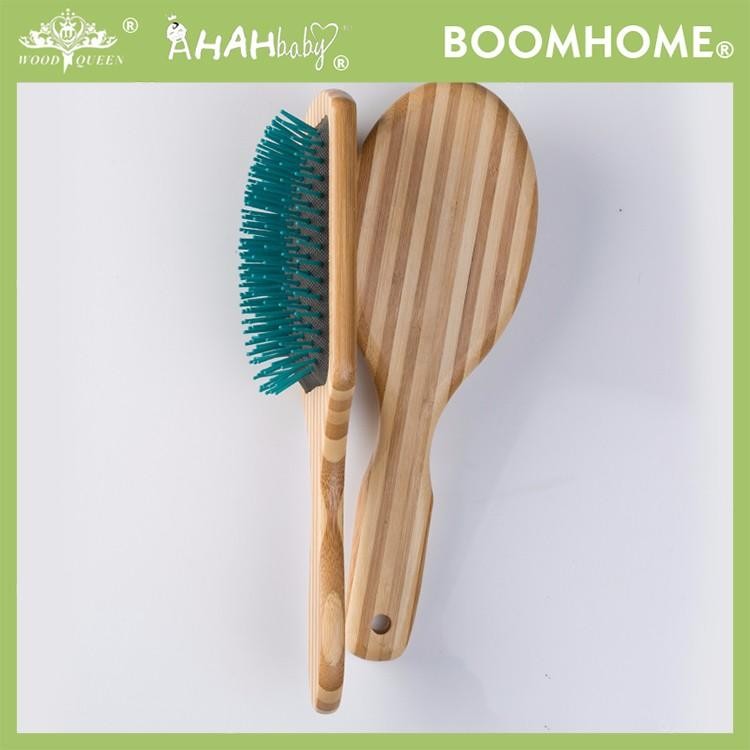 anti-static wooden hair brush quality factory for travel
