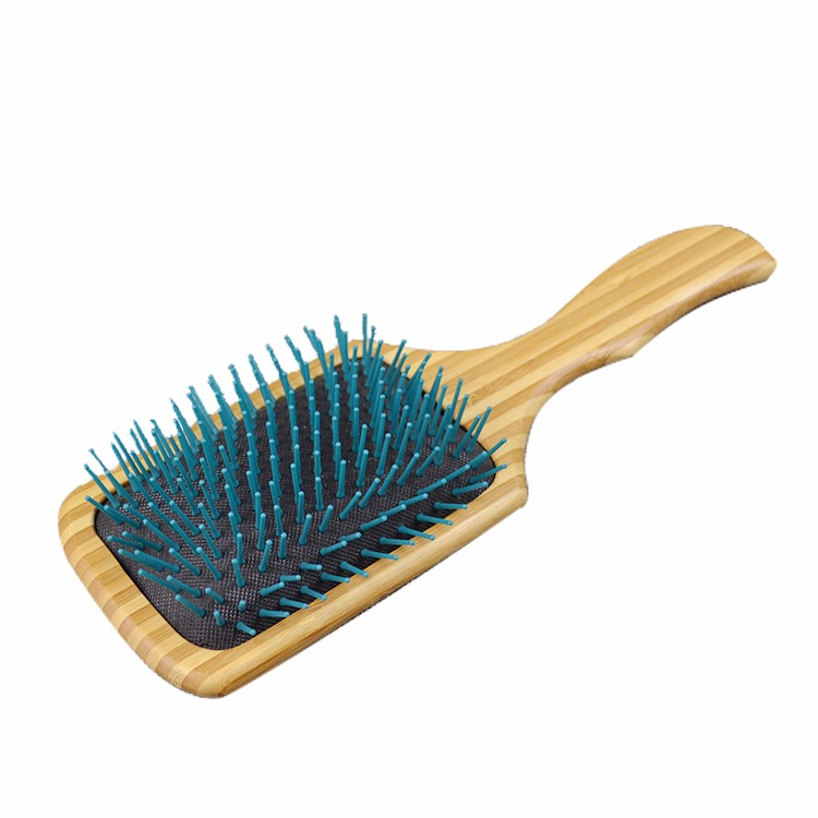 Boom Home air wooden paddle hair brush for sale for hotel-3