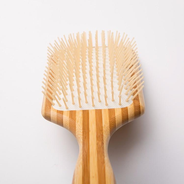 Boom Home shower wooden hair brush with good price for travel
