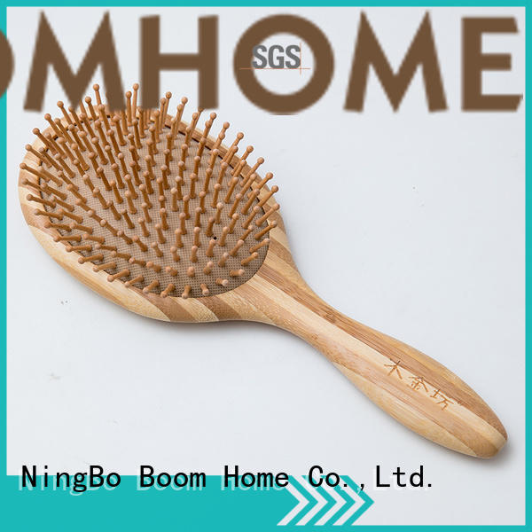 Boom Home carry bamboo hair comb supplier for curly hair