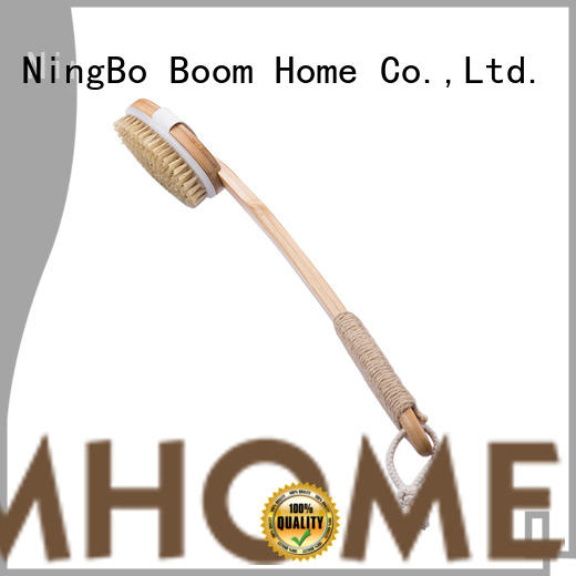 Boom Home curved bath brush from China for body