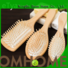 natural wooden paddle hair brush grooming with good price for home