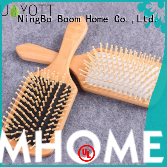 Boom Home pins wood hair brush for business for travel