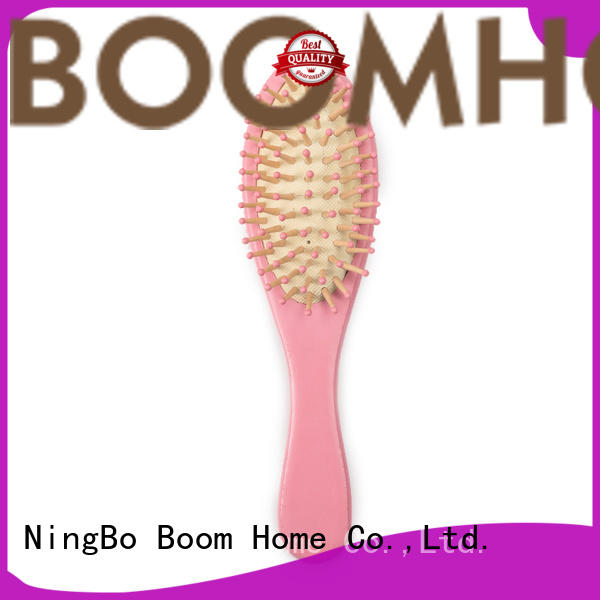 Boom Home soft baby hair brush and comb set from China for household