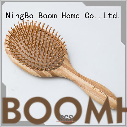 Boom Home detangler wooden hair brush factory for shop