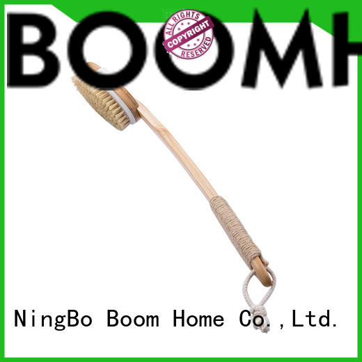 New baby bath brush bamboo supply for shower