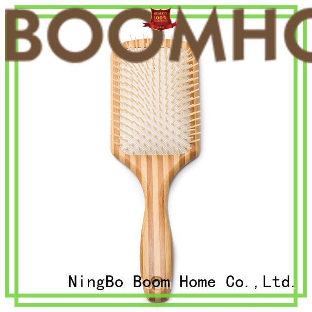 Boom Home health wooden paddle brush company for hotel