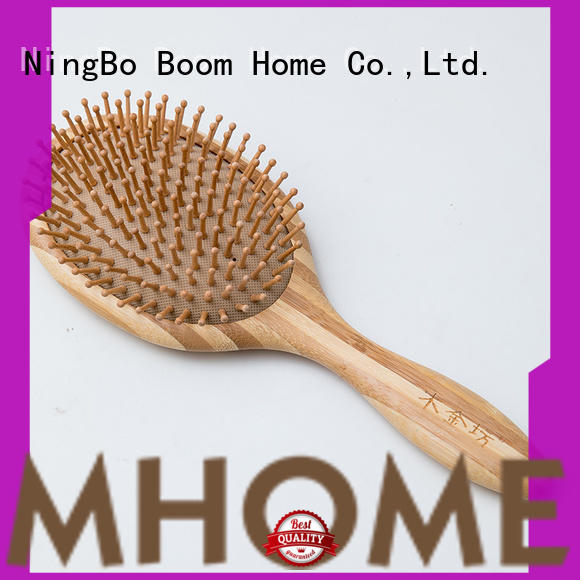 Boom Home brushes bamboo hair comb personalized for women