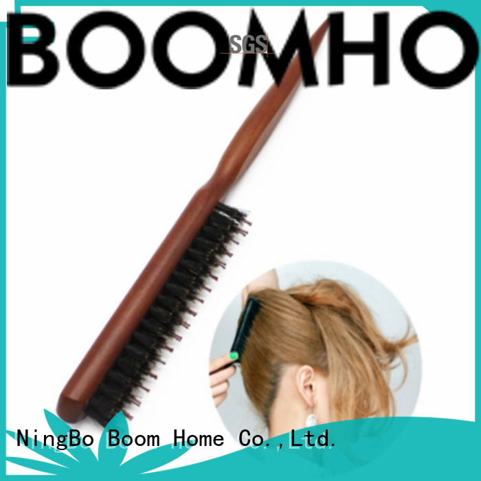Boom Home bamboo boar hair brush inquire now for bathroom