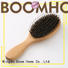 Boom Home natural wooden paddle hair brush design for travel