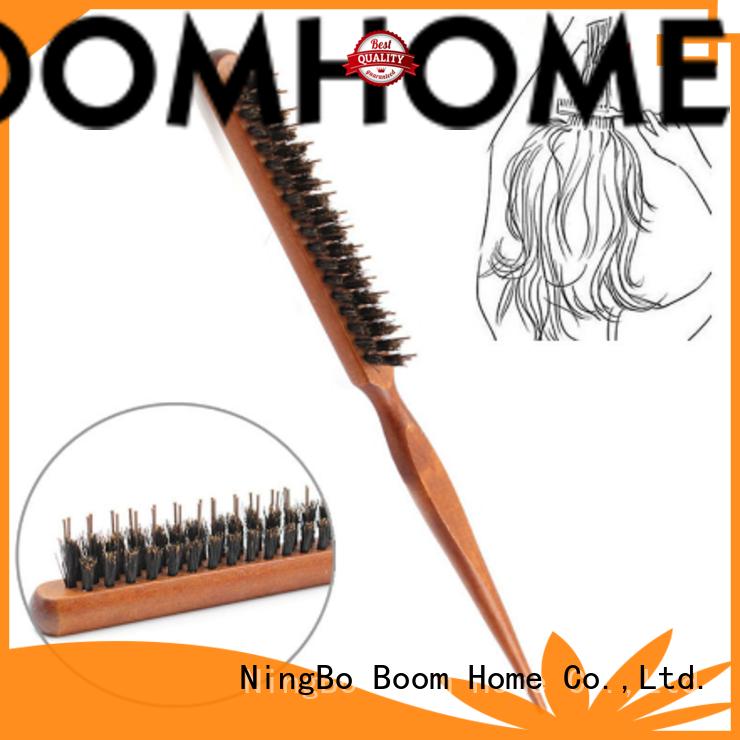 Boom Home Top boar hair hairbrush for sale for hair salon