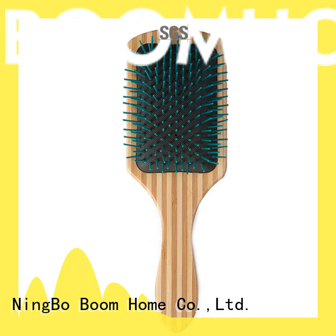 anti-static wooden paddle brush combs design for home