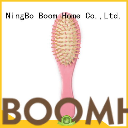 Boom Home wooden baby hair brush and comb set manufacturer for infant