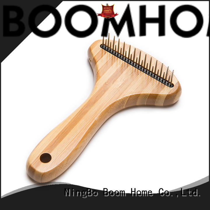 Boom Home double sided pet grooming brush with good price for pets