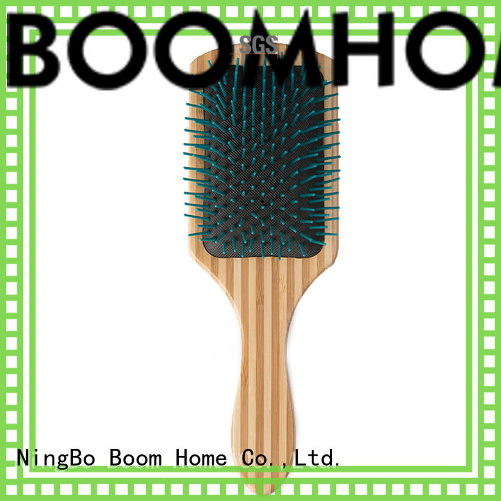Boom Home cushion wooden comb factory for travel