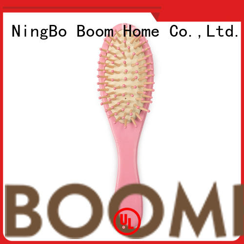 Boom Home wooden childrens hair brush series for trottie