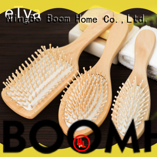 Boom Home black wood hair brush inquire now for home