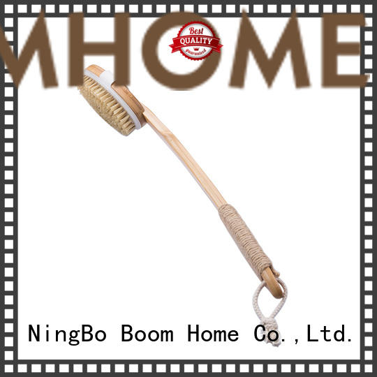 Boom Home beech baby bath brush from China for shower