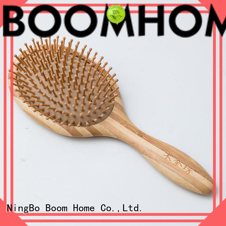 Boom Home eco-friendly bamboo hair comb wholesale for women