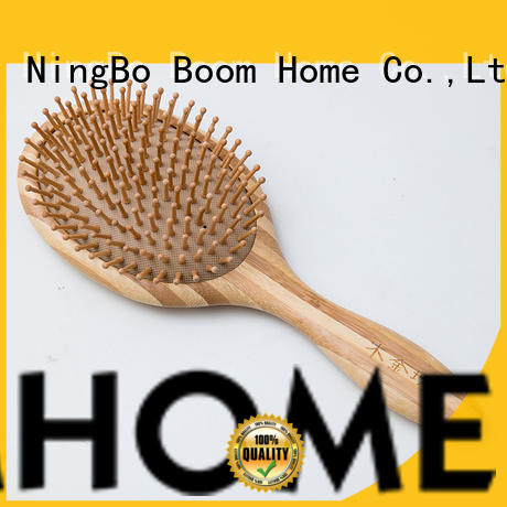 eco-friendly wooden hair comb labels factory for travel