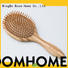 Boom Home brushes bamboo paddle brush wholesale for curly hair