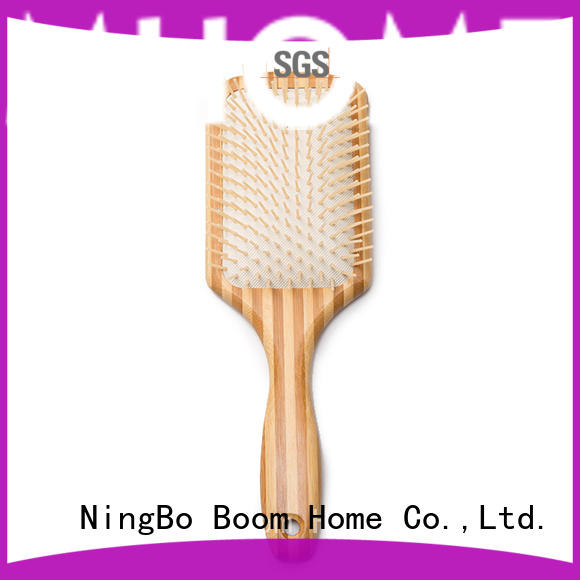 Boom Home large wooden paddle brush factory for shop