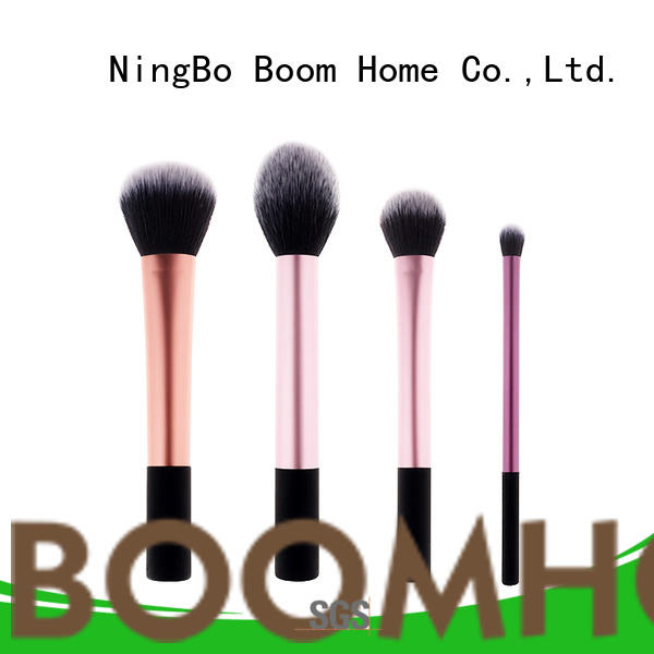 Boom Home soft wooden brushes customized for clothe