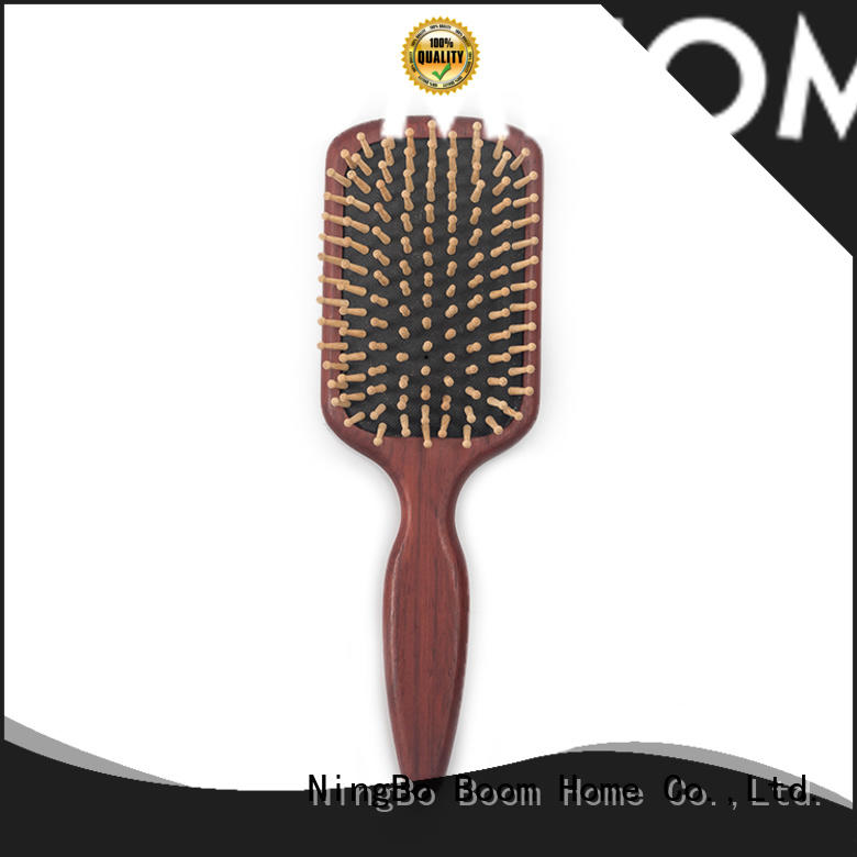 Boom Home design wooden paddle hair brush company for home