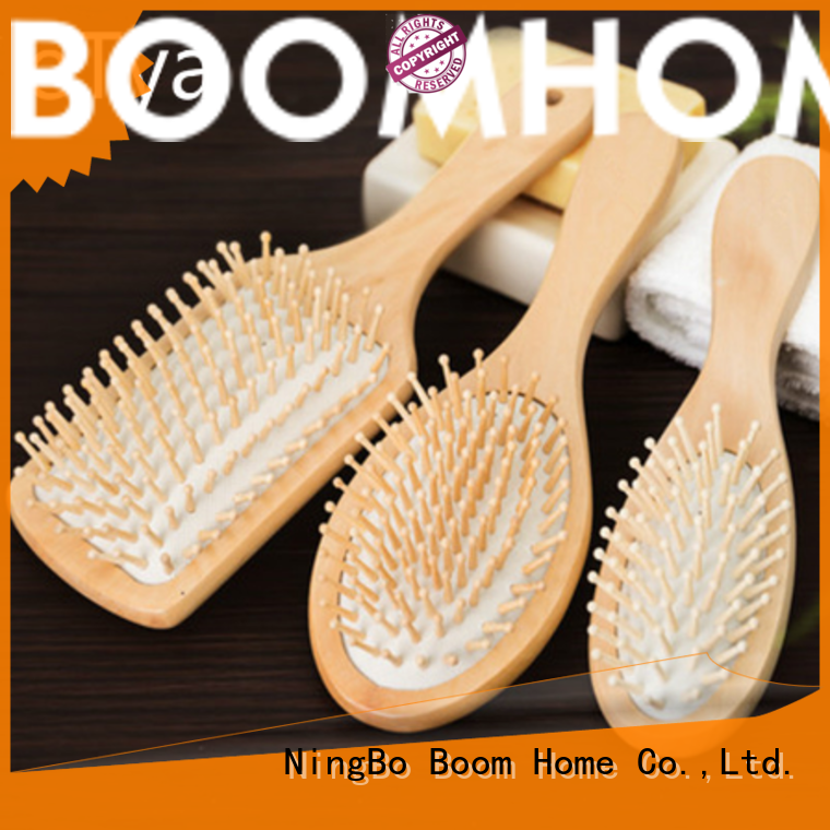 Boom Home Top wooden hair comb supply for travel