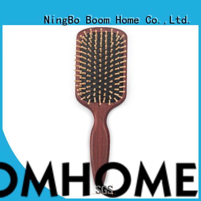 Boom Home anti-static wooden hair brush factory for shop