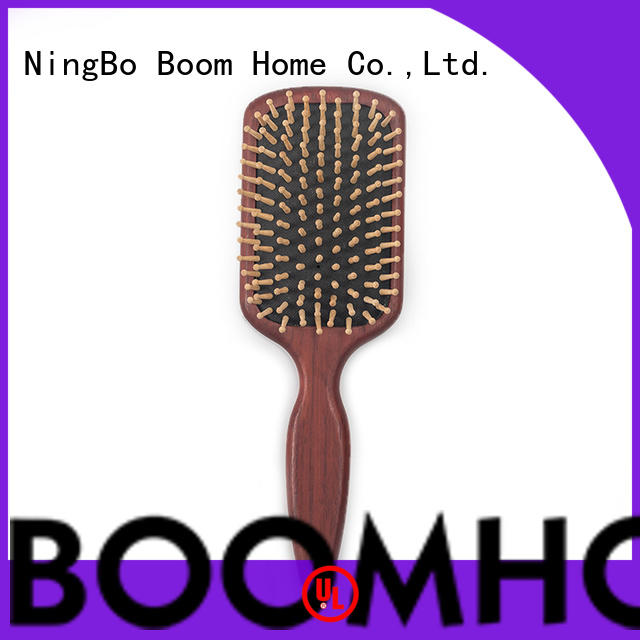 Boom Home noble wooden hair brush factory for shop