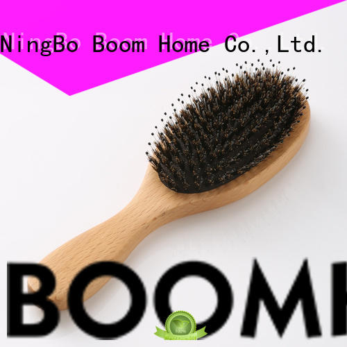 Boom Home care wooden hair brush manufacturers for travel