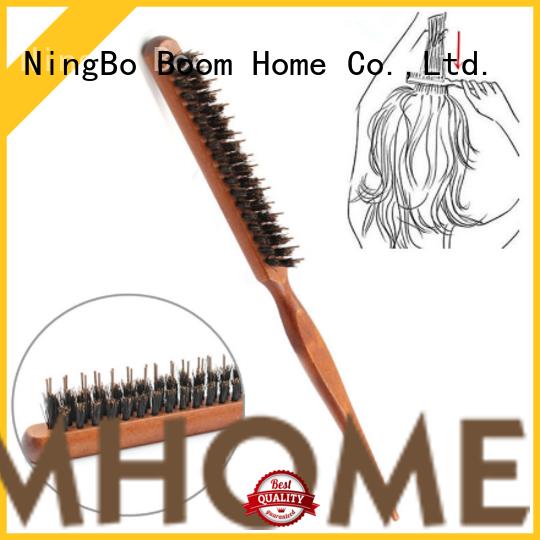 Boom Home bamboo boar bristle hair brush inquire now for hair salon