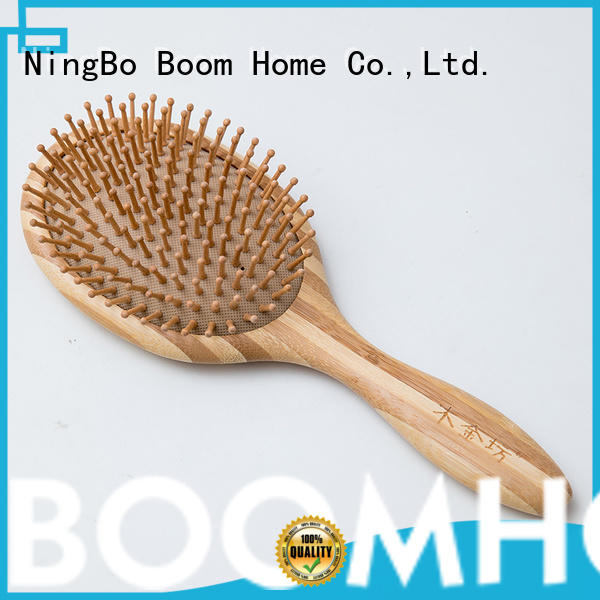 Boom Home scalp bamboo paddle brush factory for men