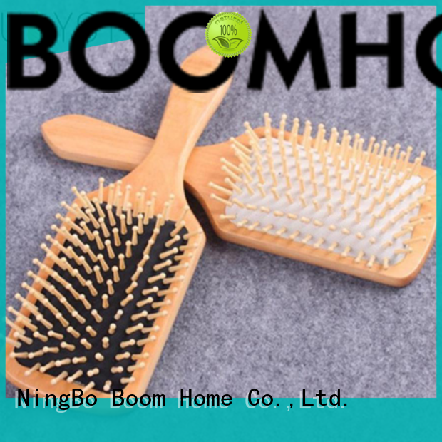 Boom Home anti-static wooden hair comb with good price for travel