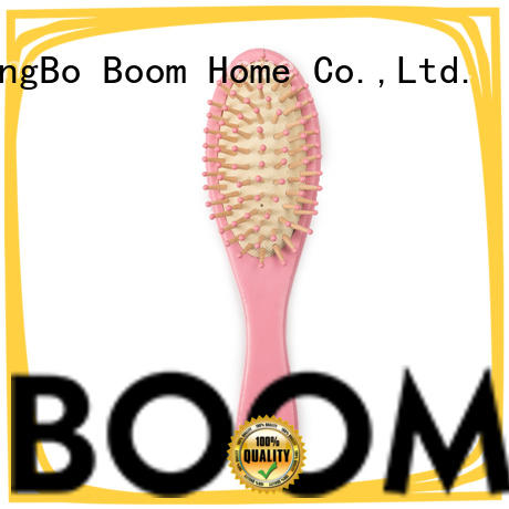 Boom Home round infant hair brush from China for trottie